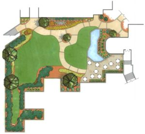 Commercial Landscape Design - Hotel