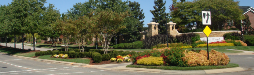 Community Landscape Design Services: Entrance Design